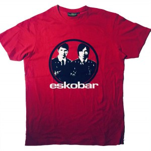 Röd T-shirt Eskobar